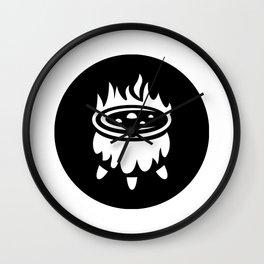 Halloween Witch Cauldron Ideology Wall Clock