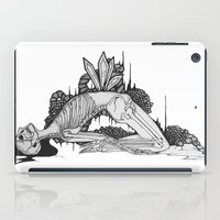 skeleton iPad Cases featuring Skeleton by Sushibird