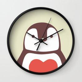 I love penguin Wall Clock