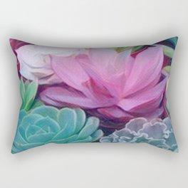 Succulents 2 Rectangular Pillow