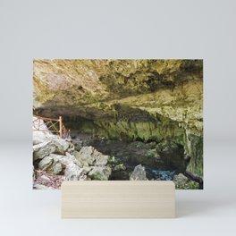 Dos Ojos Cave Limestone Pools Diving Snorkling Sacred Mayan Underground Mini Art Print