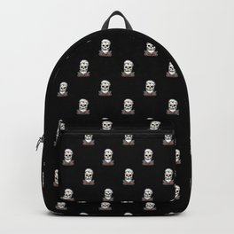 Vintage Barber Skull Backpack