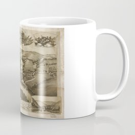 Aerial View of Valley Forge, Pennsylvania (1890) Coffee Mug
