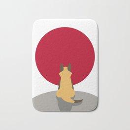 The Sun Fox Bath Mat