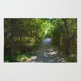 Point Pelee National Park Trails in  Leamington, Ontario, Canada Rug