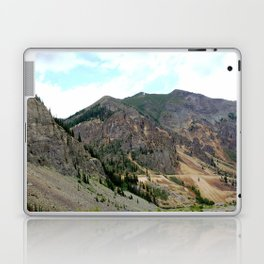 First View of the Sunnyside Mill, Coming Up the Animas River Laptop & iPad Skin
