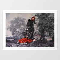 thegnarledbranch Art Prints featuring Joining the Parade by TheGnarledBranch