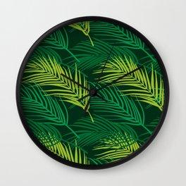 Tropical vibes 5 Wall Clock