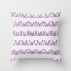 Pastel Scallops - For a Minute There I Lost Myself Throw Pillow