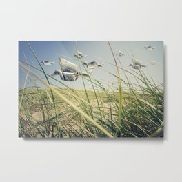 origami flight Metal Print