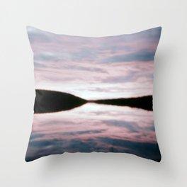 Beautiful Setting 2 Throw Pillow