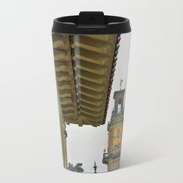 South Terrace and clock tower  Travel Mug
