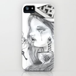Storm in a tearcup iPhone Case