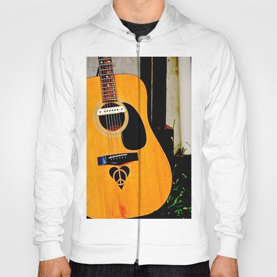 Peace, Love, Music Hoody