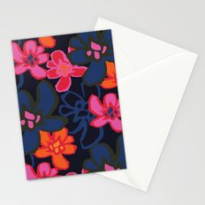 Camelia Woodcut - Winter Stationery Cards