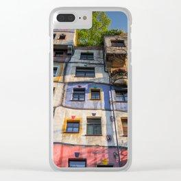 Hundertwasserhaus Vienne Autriche 3 Clear iPhone Case