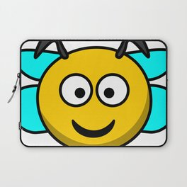 Cartoon Cute Bee Laptop Sleeve