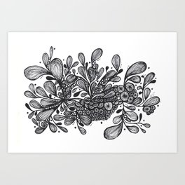 Bouquet of Flowers Series 2 Art Print
