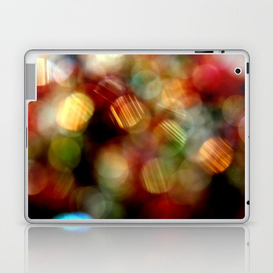Blurry light Laptop & iPad Skin