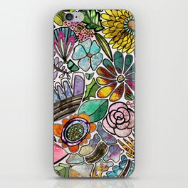 For The Love Of Flowers iPhone Skin