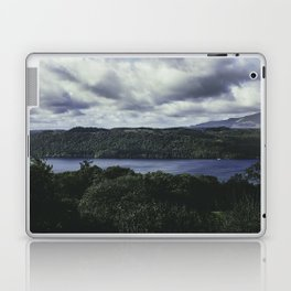 Moody Lake Windermere - Landscape and Nature Photography Laptop & iPad Skin