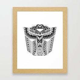 Autobot Mandala Framed Art Print