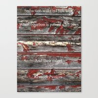 kentucky Canvas Prints featuring Kentucky by Kendell Welch