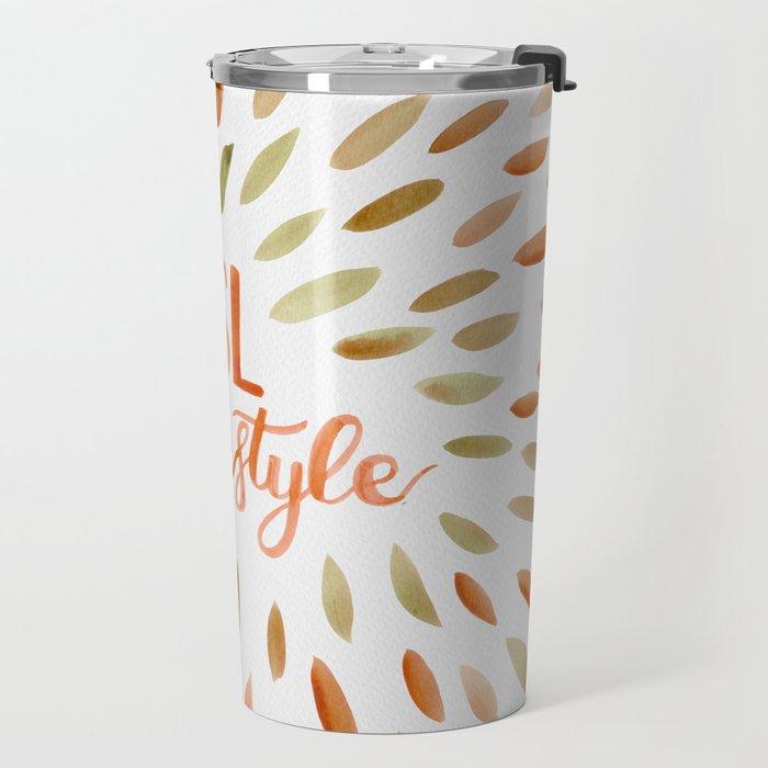 Pumpkin Spice Lifestyle Travel Mug
