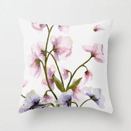 Flowers -a57 Throw Pillow