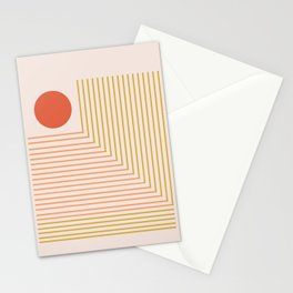 Lines & Circle 02 Stationery Cards