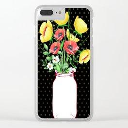 Mason Jar #3 Clear iPhone Case