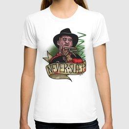 Never Sleep T-shirt