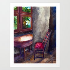 A room of one's own Art Print