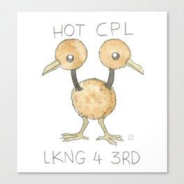HOT CPL LKNG 4 3RD Canvas Print