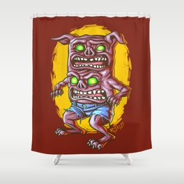 I Don't Care How Hungry You Are, I Gotta Piss! Shower Curtain