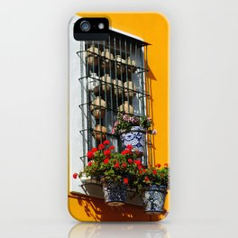 Balconies of Puebla  iPhone Case