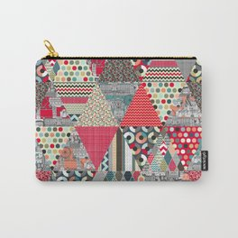 London triangle quilt Carry-All Pouch