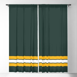 Green bay graphic Blackout Curtain