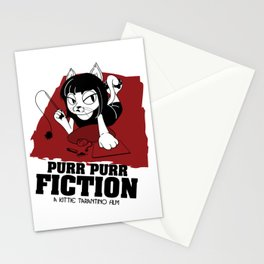 Purr Purr Fiction Stationery Cards