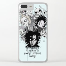 One Person's Craziness Clear iPhone Case