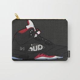 "Air Jordan V ""Supreme"" black Carry-All Pouch"