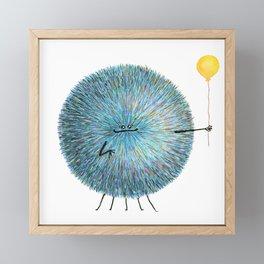 Poofy Poofus Framed Mini Art Print