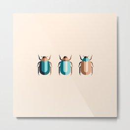June Bugs Metal Print