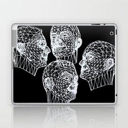 Kraftwerk Wireframe Faces Laptop & iPad Skin