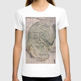 Watercolor Crocodile T-shirt