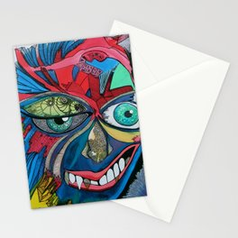 The Masks We Wear Stationery Cards