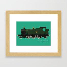 Collett 4575 2-6-2T Framed Art Print