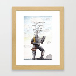 Sky Dwellers Framed Art Print