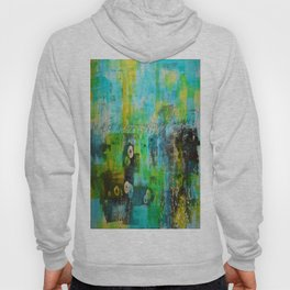 Abstract Blue in the Breeze Hoody