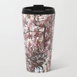 Magnolia Blossoms Travel Mug